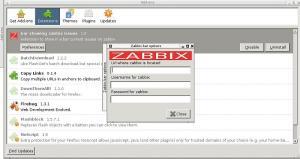 Zabbix Bar - Configuração